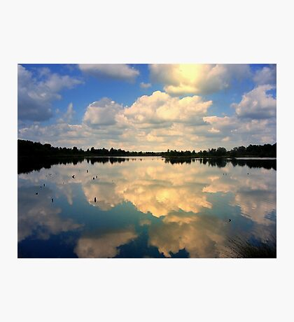 Sunlight and reflections Photographic Print