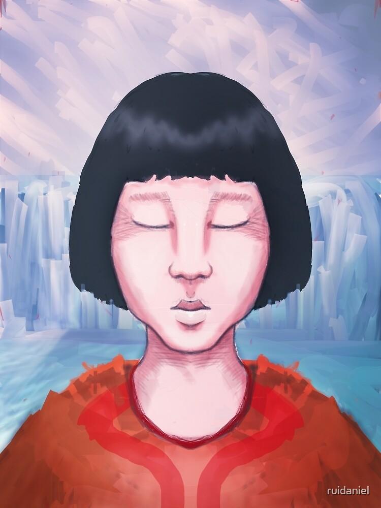 Eskimo Girl On a Glacier by ruidaniel