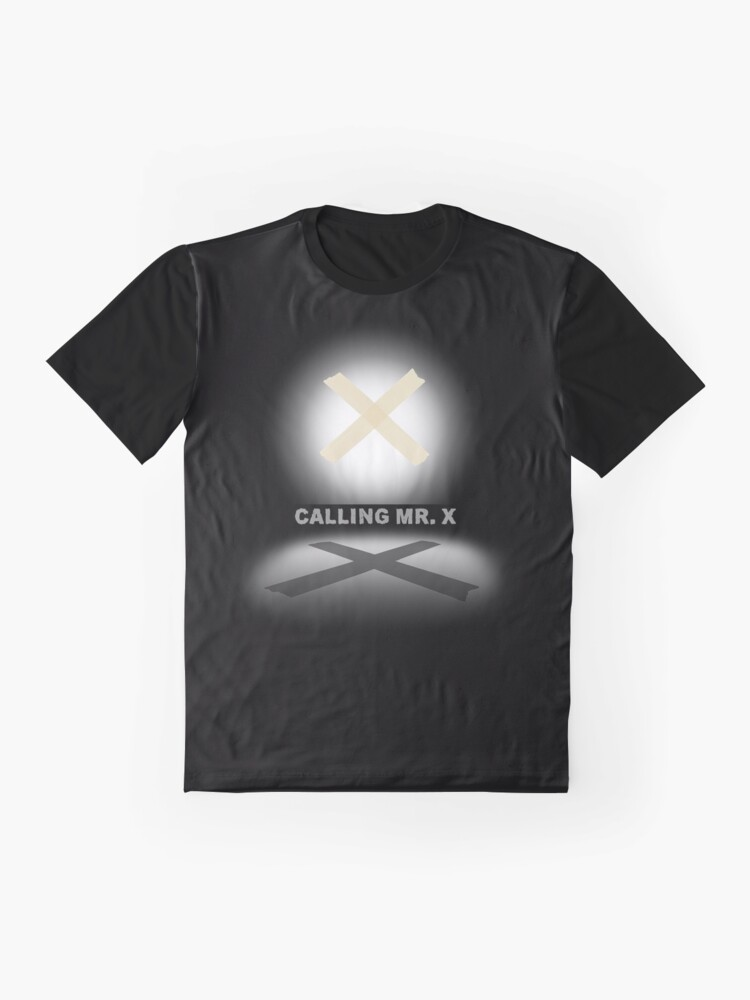 Alternate view of Calling Mr. X Graphic T-Shirt
