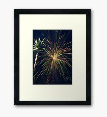 Party Streamers Framed Print