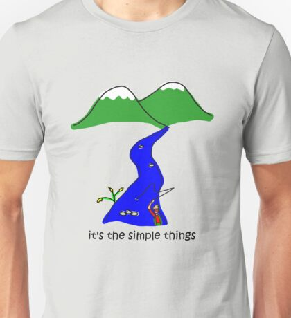Fly Fishing - Simple Things T-Shirt