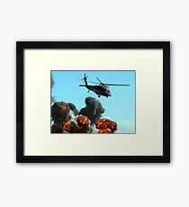 Australian Army Helicopter 3 Framed Print