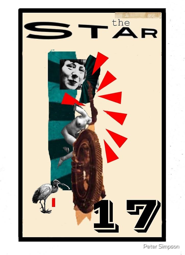 Dada Tarot-The Star by Peter Simpson