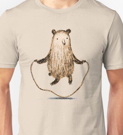 Skipping Bear Unisex T-Shirt