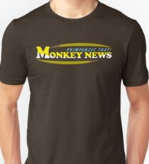 Chimpanzee That! Monkey News Unisex T-Shirt