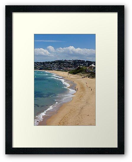 The Golden Shores Of Bar Beach by reflector