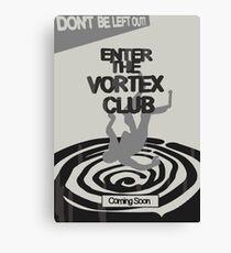 Enter The Vortex Club Canvas Print