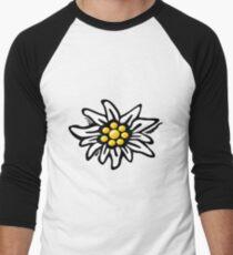 Edelweiss  Men's Baseball ¾ T-Shirt