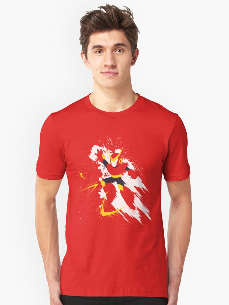 Quickman Splattery Shirt by thedailyrobot