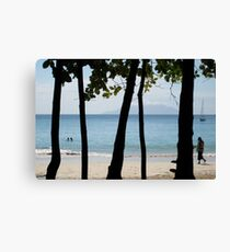 Sequential Beach Canvas Print