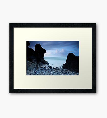 Guardian Rocks Framed Print