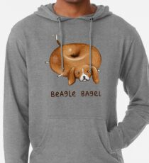 Sudadera con capucha ligera Beagle Bagel