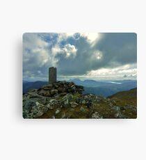 The Summit - Sgurr an Airgid Canvas Print