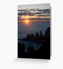 The Pinnacles - Cape Woolamai Greeting Card