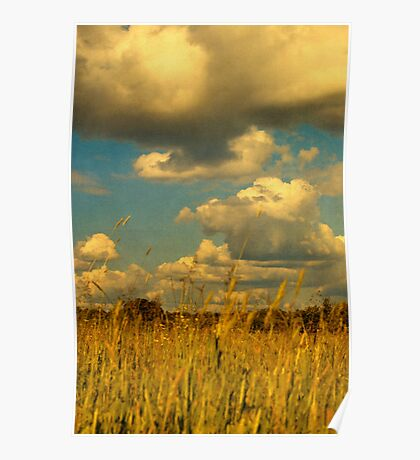 Big Clouds Overhead Poster