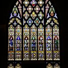 Stained Glass at St Laurence`s, Ludlow by John Dalkin