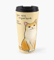 """You Matter"" Cat Travel Mug"