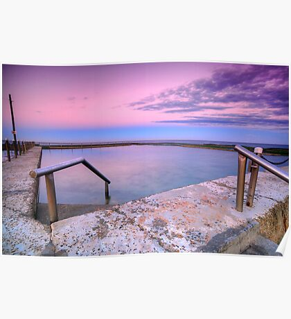 Mona Vale in Pink Poster
