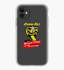 Be Strong Cobra Quote - Cobra Kai Official Merch iPhone Case