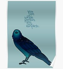 Cosmic Crow Poster