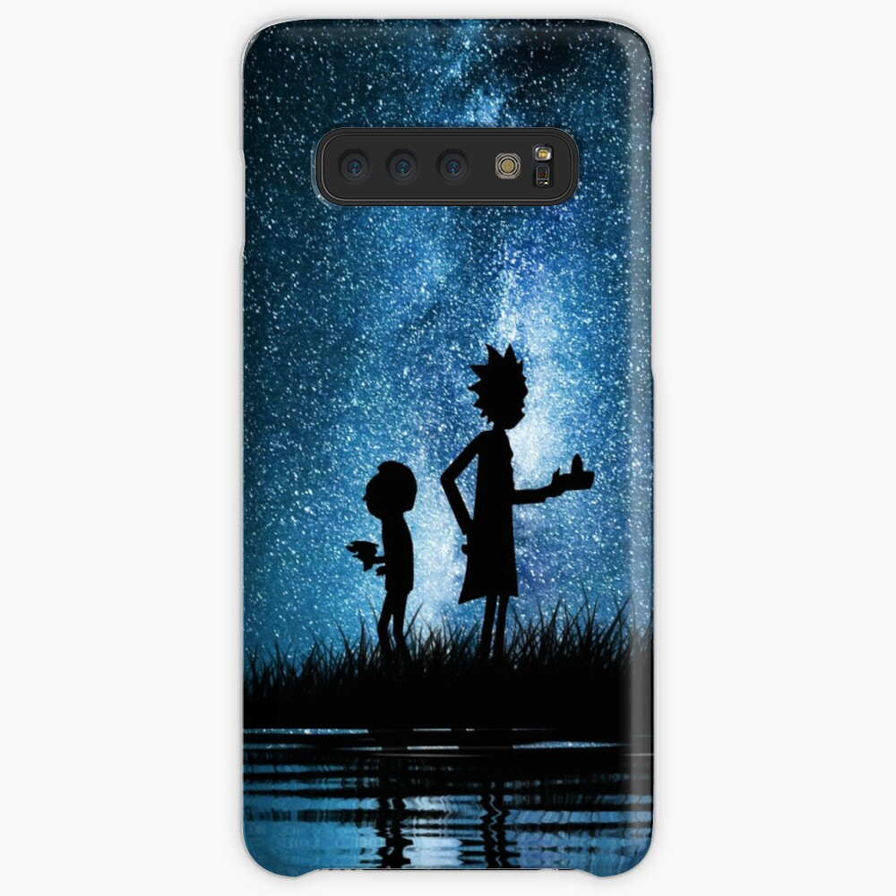 Rick and Morty in Space Case & Skin for Samsung Galaxy