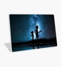 Rick and Morty in Space Laptop Skin