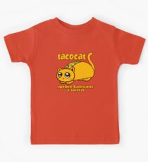 Funny - Tacocat Spelled Backwards (vintage look) Kids Tee