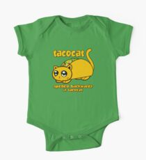 Funny - Tacocat Spelled Backwards (vintage look) One Piece - Short Sleeve