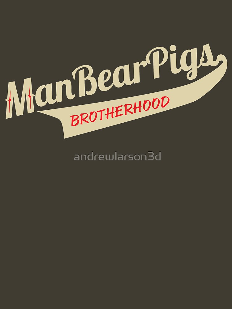 Man Bear Pigs Script by andrewlarson3d