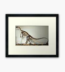 Strong Plateosaurus Framed Print