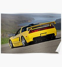 1992 Acura NSX 'Above the Bay' Poster