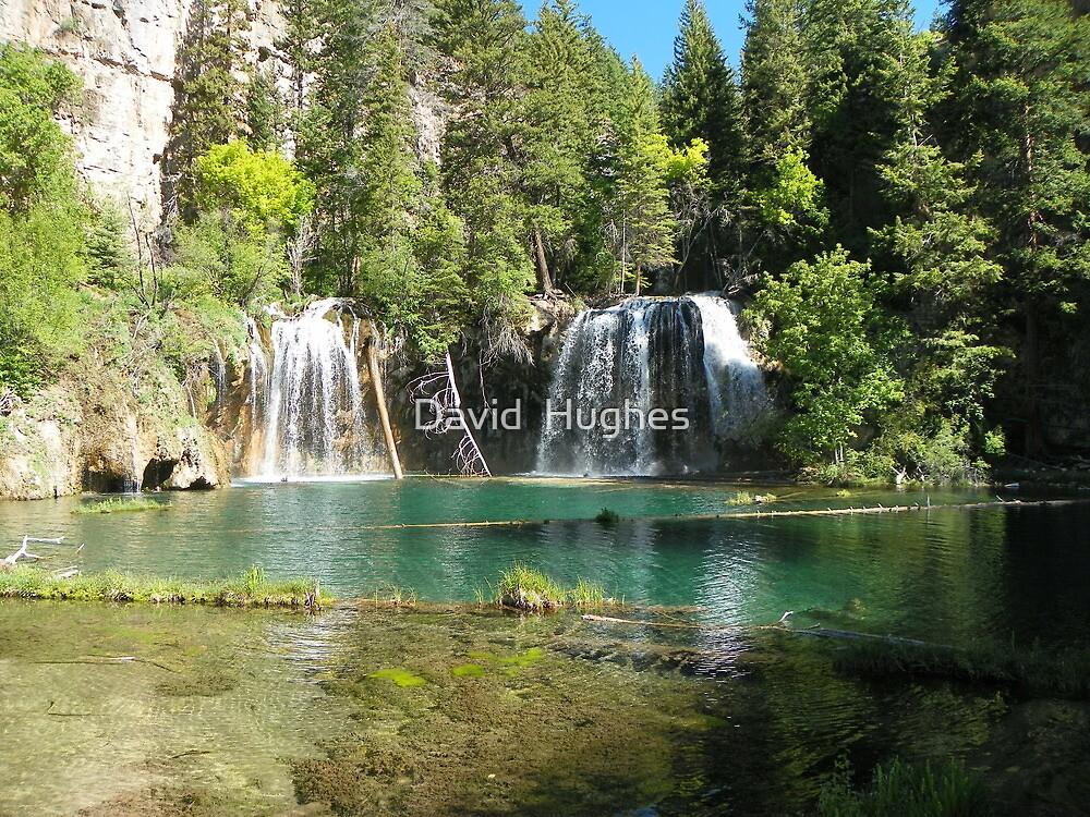 Hanging Lake's emerald waters by David  Hughes