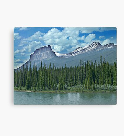 My Favourite Mountain Canvas Print