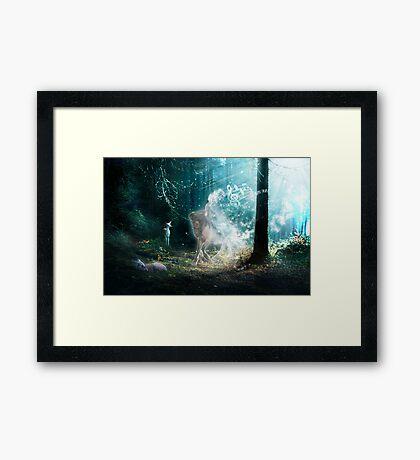 FOREST SONG Framed Print