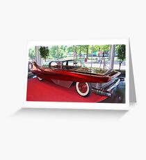 Bobby Darin's 1960 DiDia 150 Custom Car Greeting Card