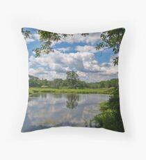 summer in ringwood Throw Pillow