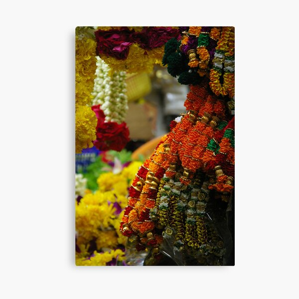 Floral Archway Canvas Print