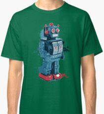 Blue Toy Robot Splattery Shirt Classic T-Shirt