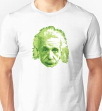 Albert Einstein - Theoretical Physicist - Green T-Shirt