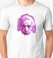 Camiseta ajustada Albert Einstein - Físico Teórico - Rosa