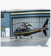 Agusta Westland G-TELY - Castle Air Charters Poster