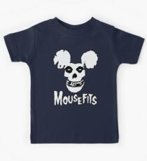 I Want Your Cheese! Mousefits Logo Kids Tee