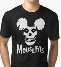 I Want Your Cheese! Mousefits Logo Tri-blend T-Shirt