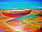 Kailua Beach Canoe  by jyruff