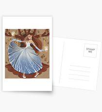 Human Queen of Faerie Postcards