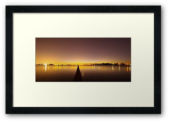 The Jetty & The Bridge by Mark  Lucey