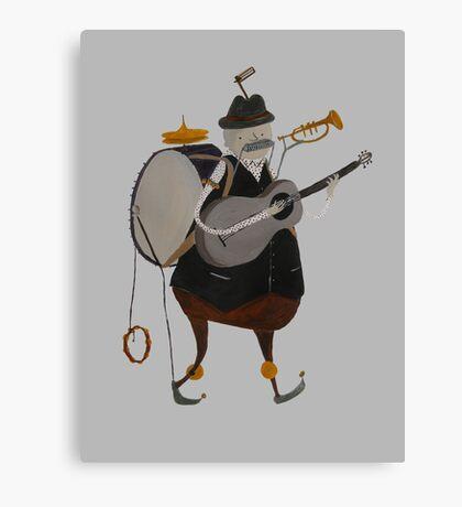 One Man Band Machine Canvas Print