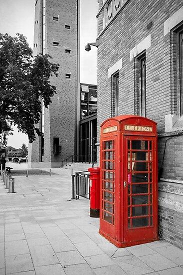 Red Telephone & Post Box by StephenRphoto
