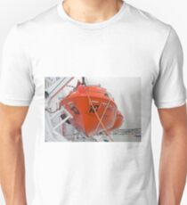 lifeboat onboard DFDS King seaways T-Shirt