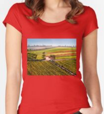 Tuscany - Vineyards Women's Fitted Scoop T-Shirt